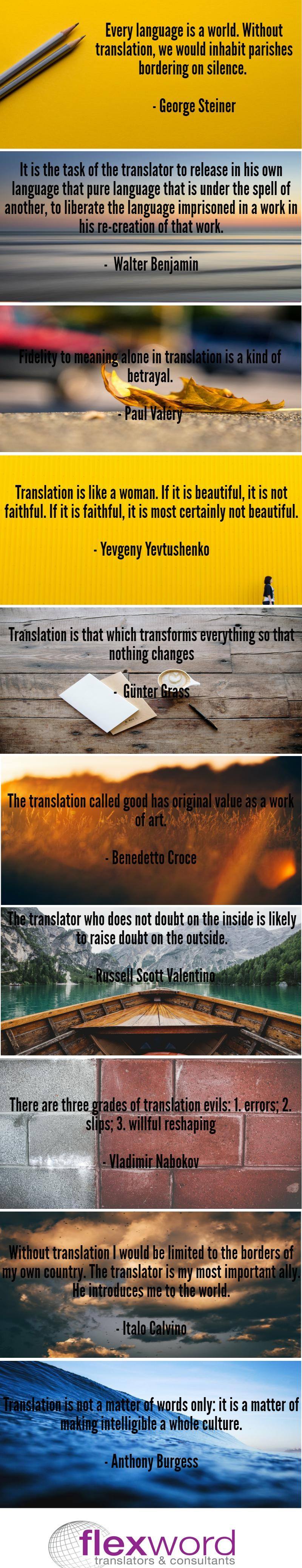 10 Of The Very Best Quotes About Translation Flexword Is The